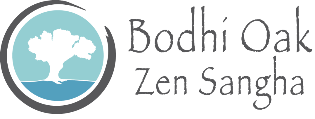 Logo of the Bodhi Oak Zen Sangha where you can practice peaceful meditation