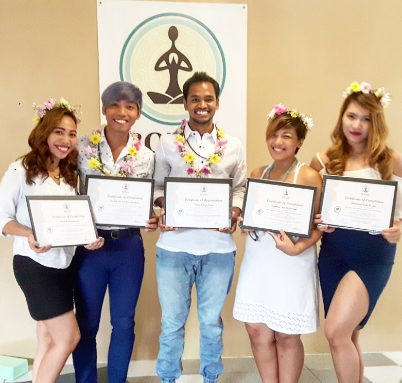 Yoga Alliance Certificate
