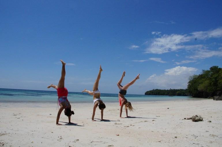 White sand beach in Gumasa, Sarangani Province - 1.5 hour drive from Gen. Santos.