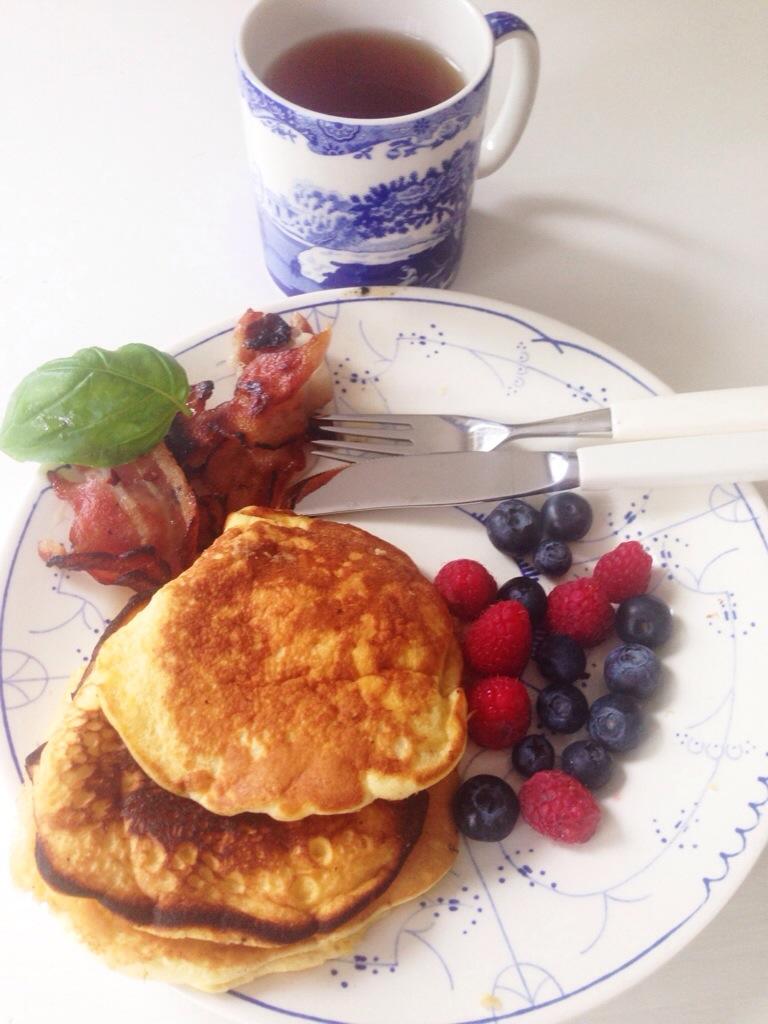amerikanske pannekaker uten bakepulver