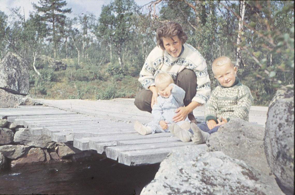 Mor, Bodil og Bjørn Grytelva