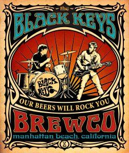 Brewco Black Keys poster