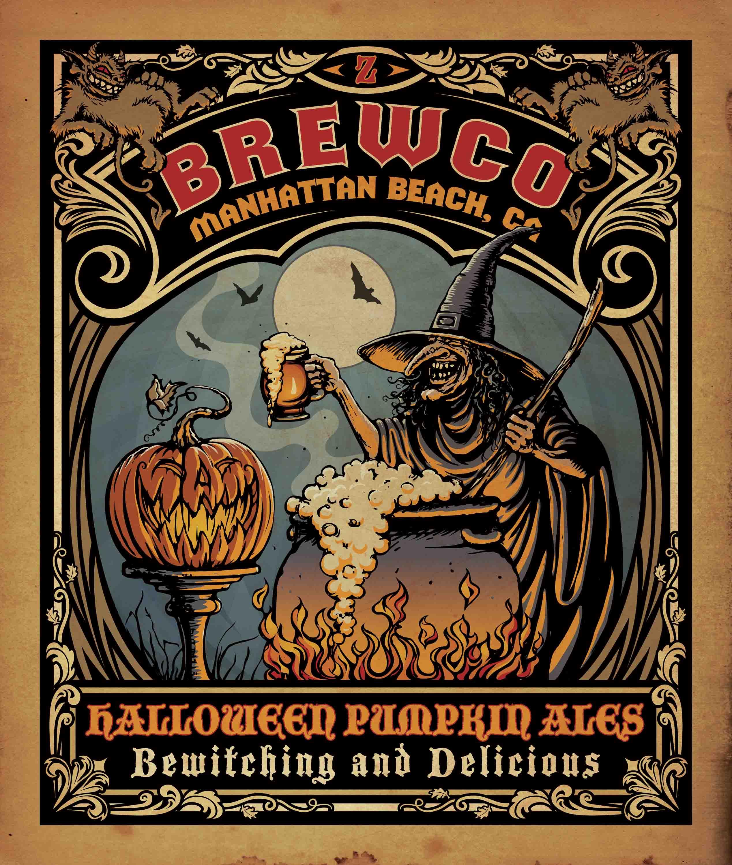 Brewco Pumpkin Ales poster