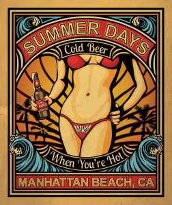Brewco Summer Days poster