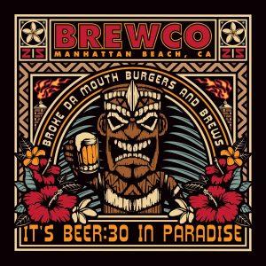 Brewco Tiki poster.