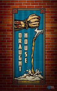 Brewco Draught House 7' x 3' wall mural