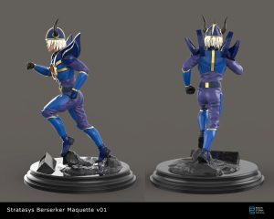Stratasys Berserker Maquette- internal project