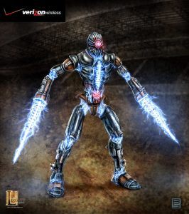 Verizon 4GE robot concept V04 designed for Legacy Effects.