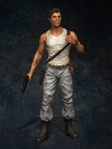 Male game character concept.
