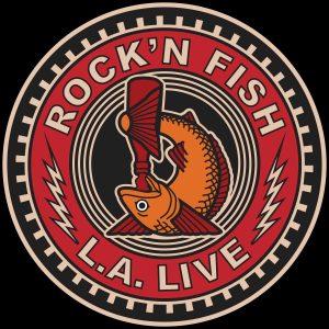 Rock'n Fish L.A. Live T-shirt design V02.