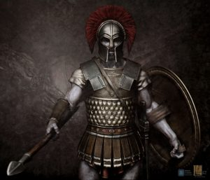 Hoplite v02 designed for Legacy Effects.
