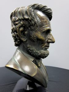 Abe Lincoln bust 3D print