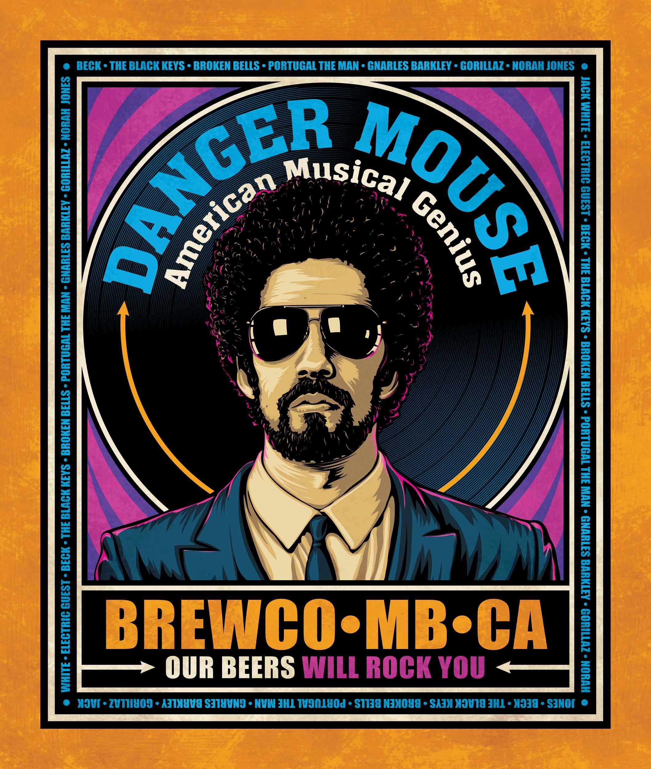 Brewco Danger Mouse poster
