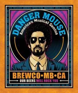 Brewco Danger Mouse poster