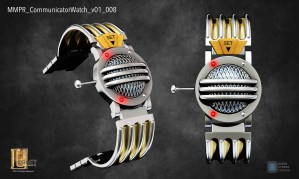 Mighty Morphin Power Ranger Communicator Watch for Samsung Galaxy Gear commercial