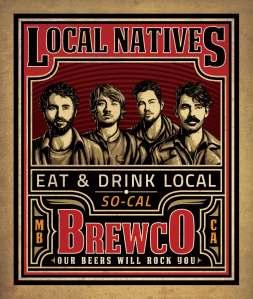 Brewco Local Natives poster