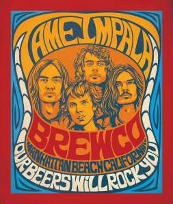 Brewco Tame Impala poster