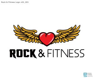Rock'n Fitness early logo WIP v02_001