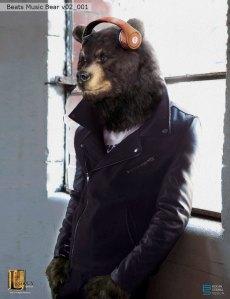 Beats Music- Black bear concept