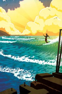 2nd annul Surf @water illustration