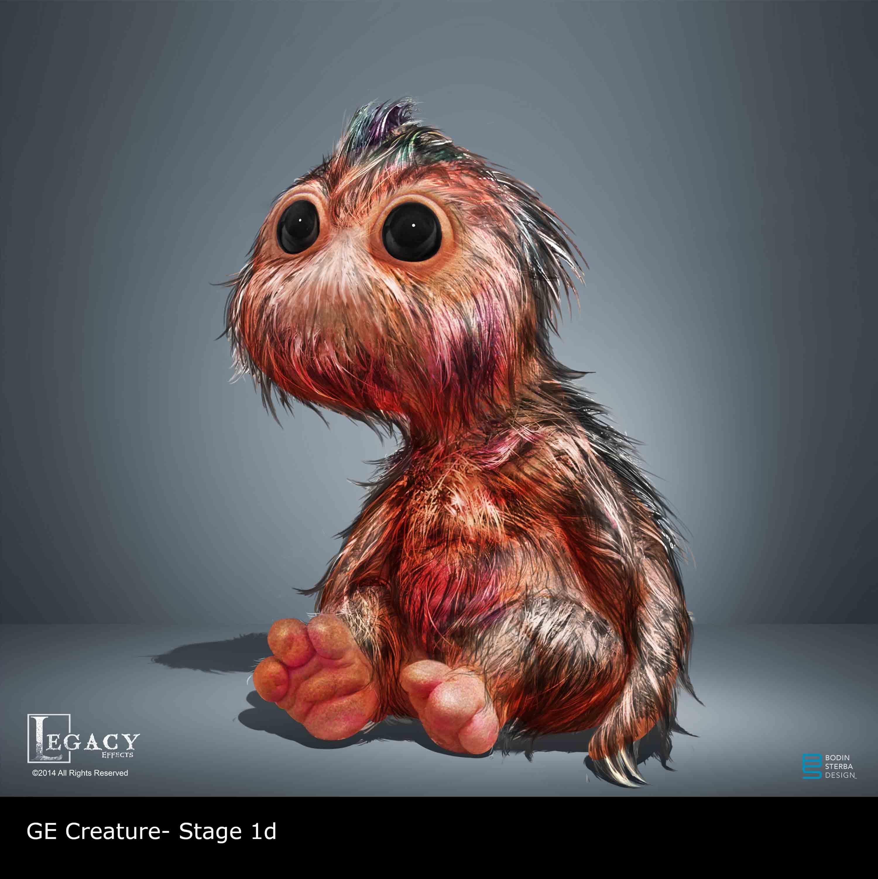 GE Creature Infant Final Design Stages