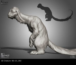 GE Creature early design stages