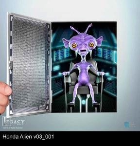 Honda Fit alien