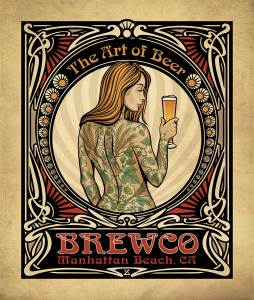 Brewco Art of Beer canvas art