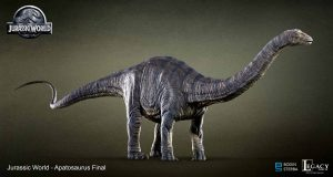 My Jurassic World Apatosaurus final design.