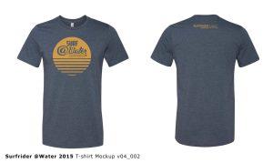 Surf @Water 2015 t-shirt design