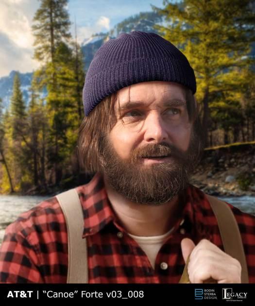 """DirecTV/AT&T """"Canoe"""" Will Forte design"""
