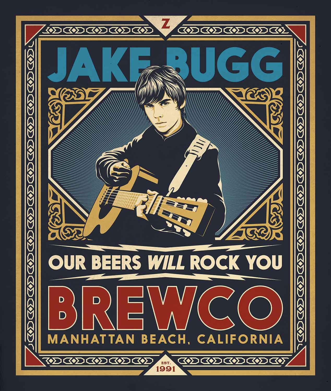 Brewco Jake Bugg Poster