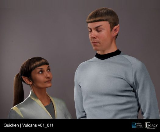 Quicken Loans vulcan couple designs