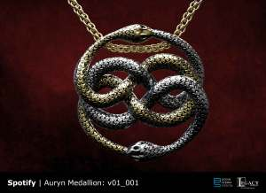 Spotify The Never Ending Story Auryn Medallion