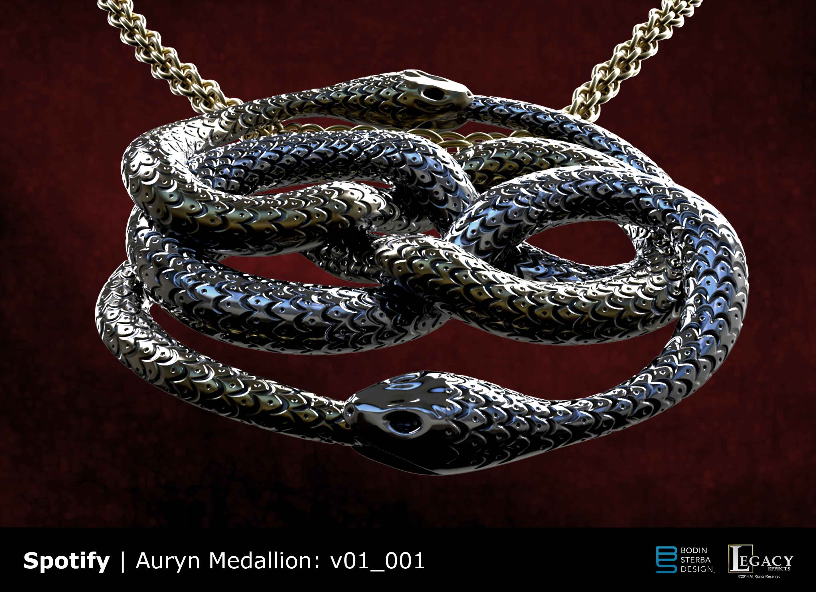 Spotify the never ending story ad bodin sterba design spotify the never ending story auryn medallion mozeypictures Choice Image