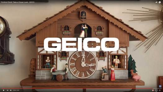 Geico Cuckoo Clock Screen Shot