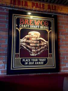 Brewco Trust Canvas Print at Brewco Manhattan Beach, CA