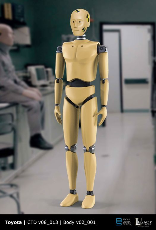 Toyota Crash Test Dummy Design