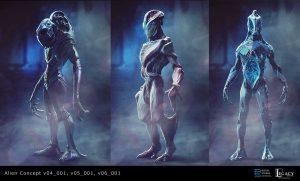 Alien concept v01, v02_v03