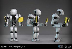 Sprint Small Robot Final Design