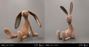 "FedEx ""Tortoise & the Hare"" prelim hare designs"