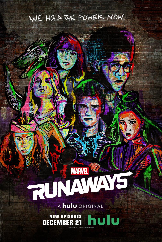Marvel Runaways poster