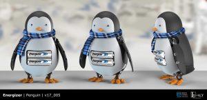 Energizer penguin final design