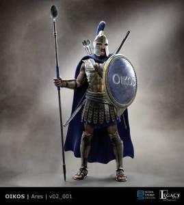 Oikos Ares preliminary design