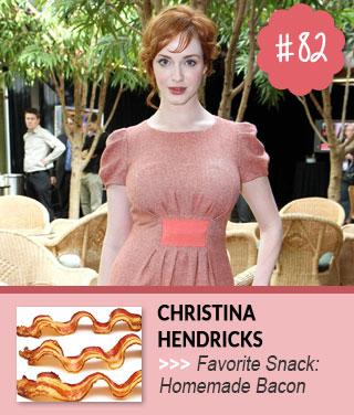 Christina-Hendricks-Celebs-Favorite-Snacks