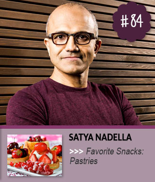 Microsoft-Satya-Nadella-Favorite-Food