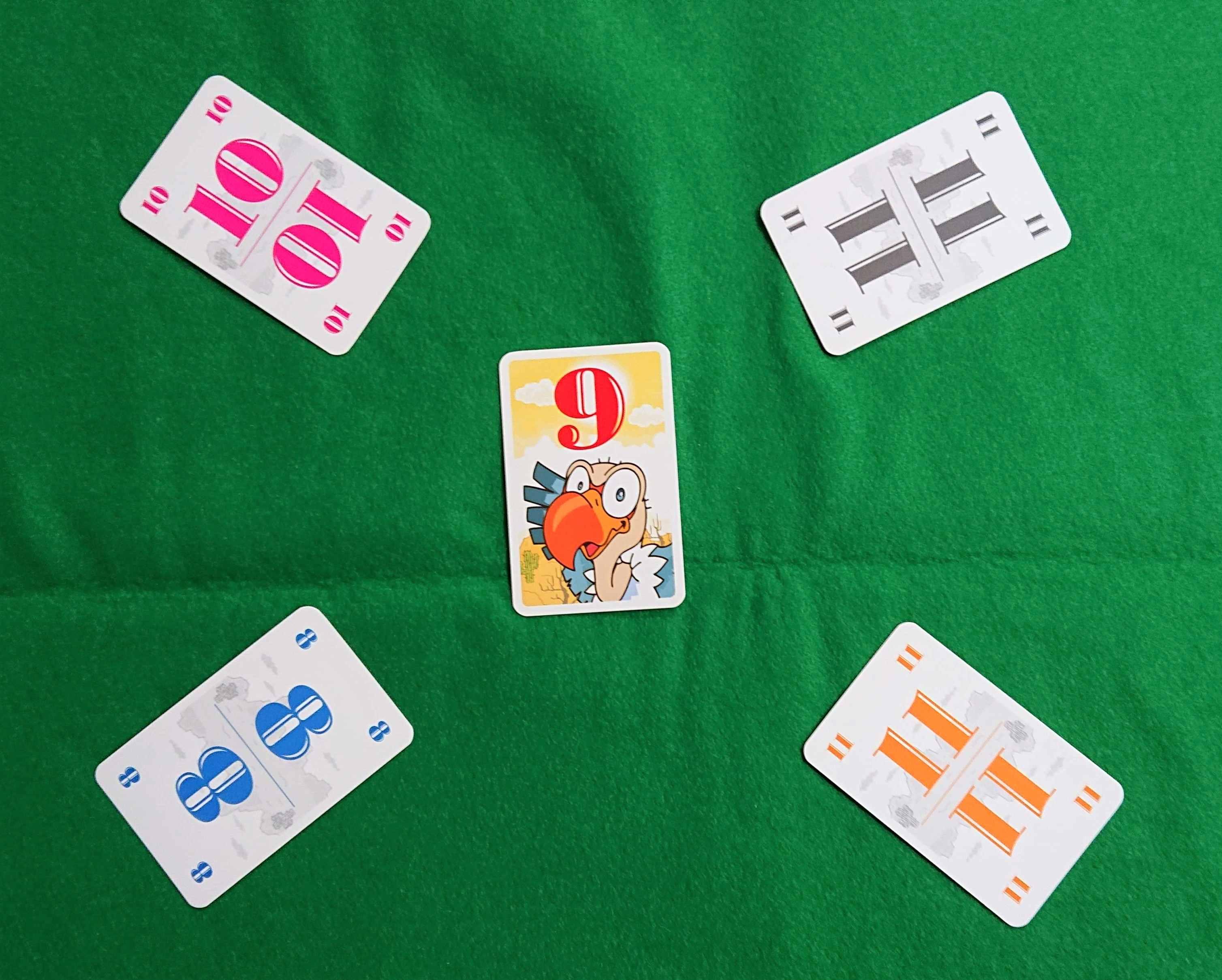 ハゲタカのえじき バッティングゲームの名作カードゲーム 被っちゃダメ!! ボードゲーム