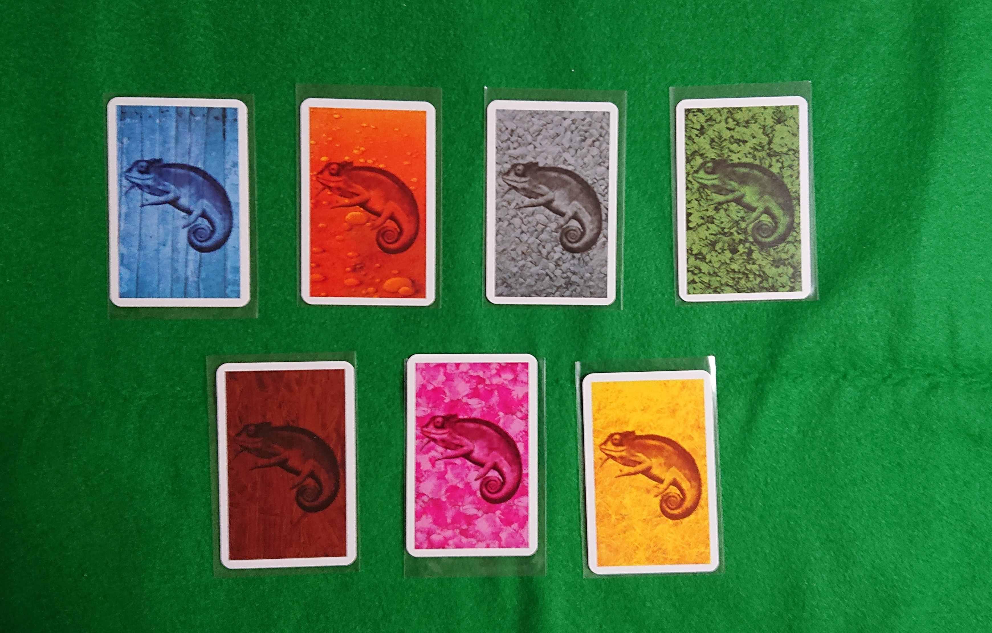 コロレット ボードゲーム 名作・有名カードゲーム 同じ色のカメレオンを集めよう ルール説明 ボードゲーム