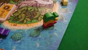ウミガメの島 有名ボードゲーム 名作すごろくゲーム サイコロを振ってカメを進める ルール説明
