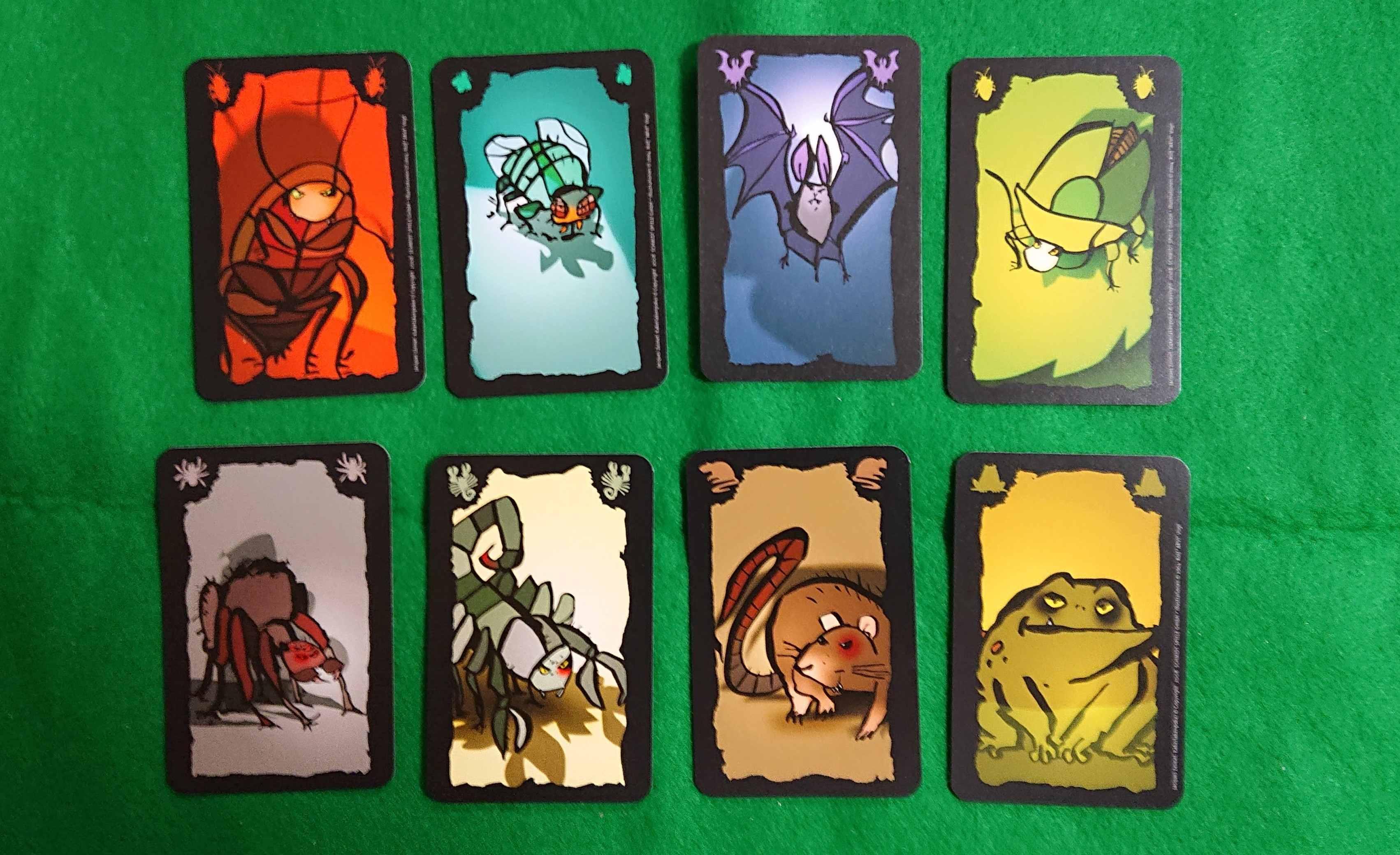 ごきぶりポーカー 傑作ブラフ系カードゲーム 嫌われ者を押し付けろ! ルール説明 ボードゲーム